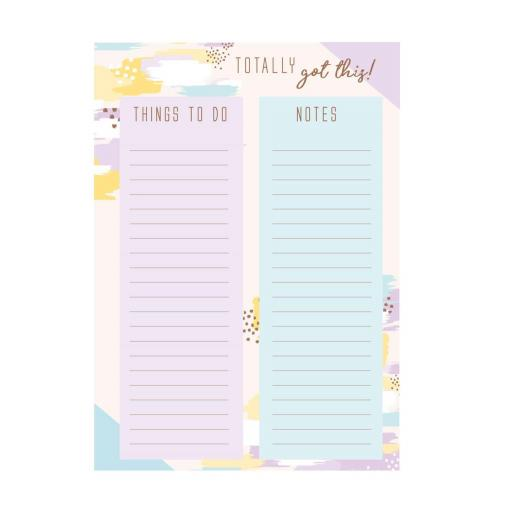 IGD Totally Got This Brushed Memo Pads - Set of 2