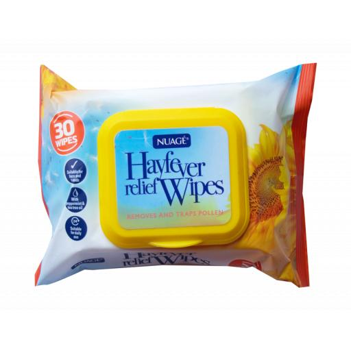 Nuage Hayfever Relief Wipes - Pack of 30