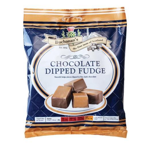 Buchanan's Chocolate Dipped Fudge 150g *BBE 09/21