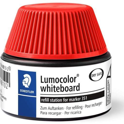 Staedtler Lumocolor Whiteboard Ink Refill - Red