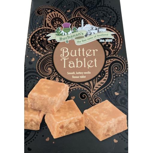 Buchanan's Boxed Butter Tablet Box 150g BBE 07/21