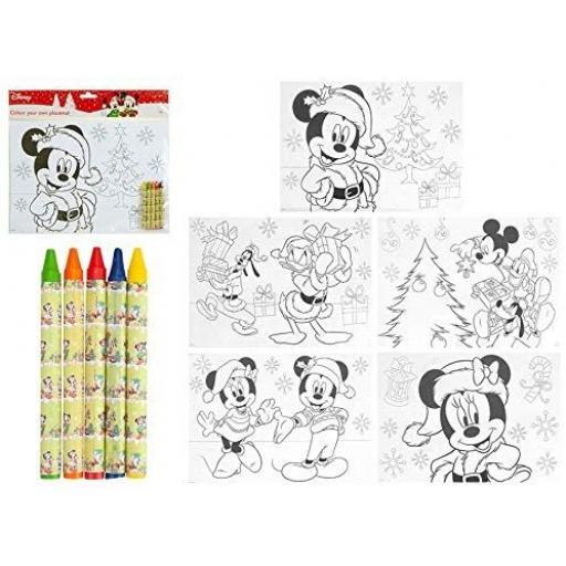 Disney Colour Your Own Placemats - Pack of 5