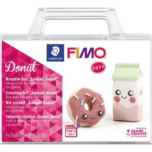 Staedtler Fimo Soft Creative Kit - Kawaii Donut