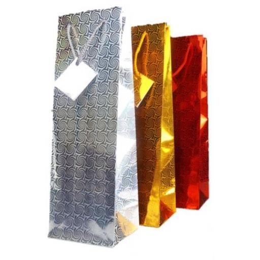 Martello Holographic Bottle Bags - Pack of 12