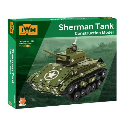 IWM Construction Model - Sherman Tank