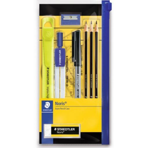Staedtler Noris Exam Pencil Case Set