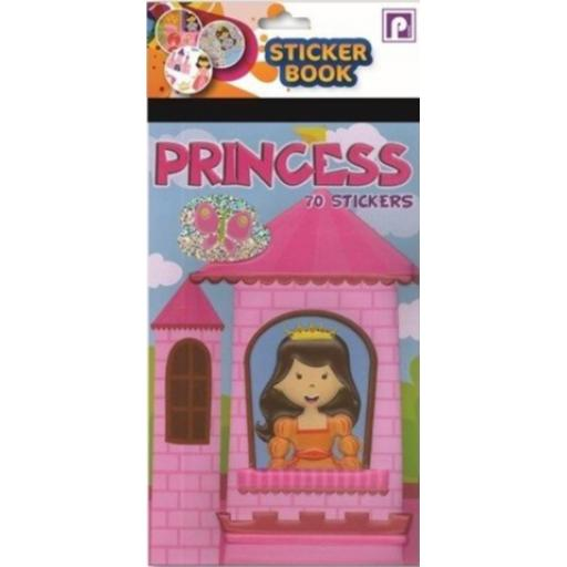 Pennine Sticker Book, 70 Stickers - Princess