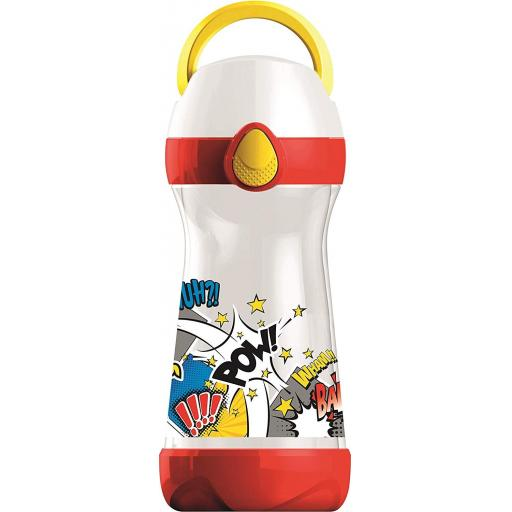 Maped Picnik Concepts Lunch Water Bottle 430ml - Comic Design