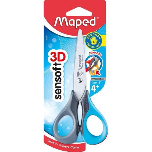 Maped Sensoft Left Handed Scissors - 13cm