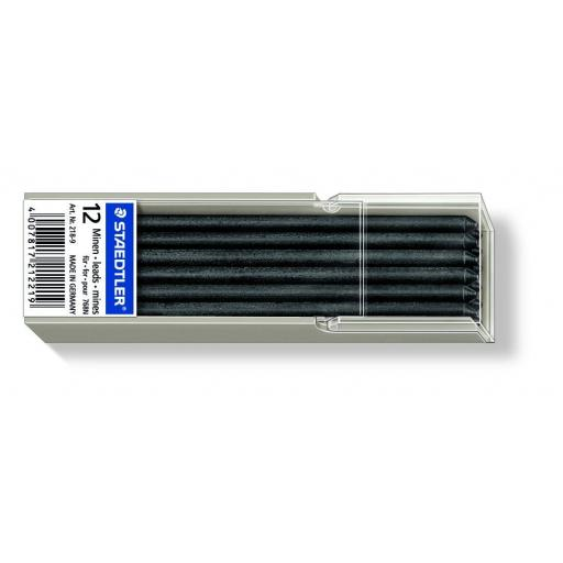 Staedtler Omnichrom Non-Permanent Leads Black - Pack of 12