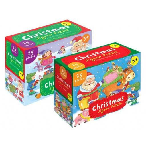 Squiggle Christmas Jigsaw Puzzle - 25 Pieces