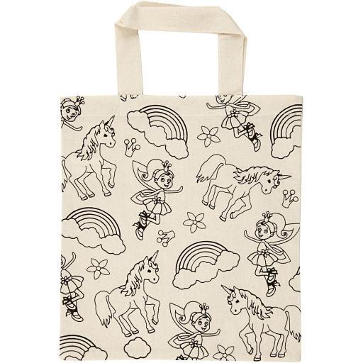 Creativ Cotton Shopping Bag - Unicorn