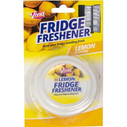 Vivid Lemon Scented Fridge Freshener