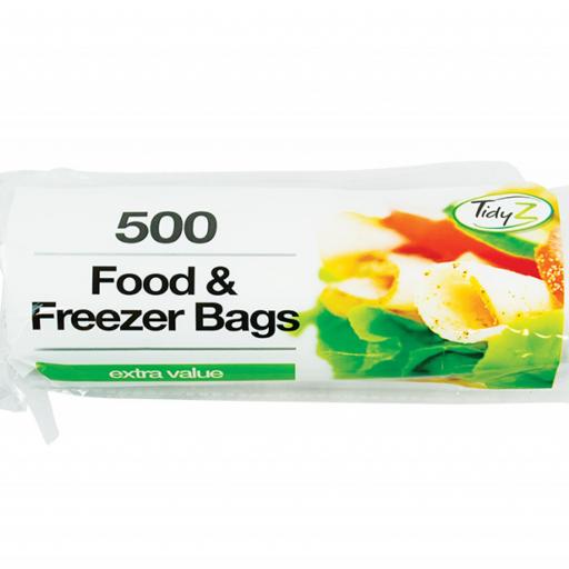 Food & Freezer Bags - Pack of 500