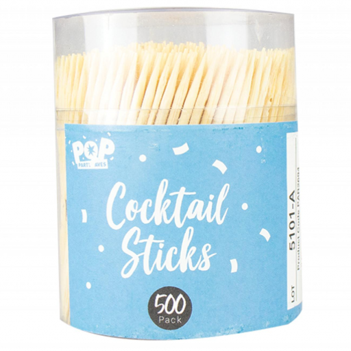 Pop Party Cocktail Sticks - Pack of 500