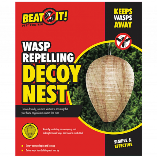 Beat It Pest Control Decoy Wasp Repelling Nest