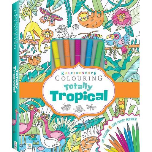 Kaleidoscope Totally Tropical Colouring Kit