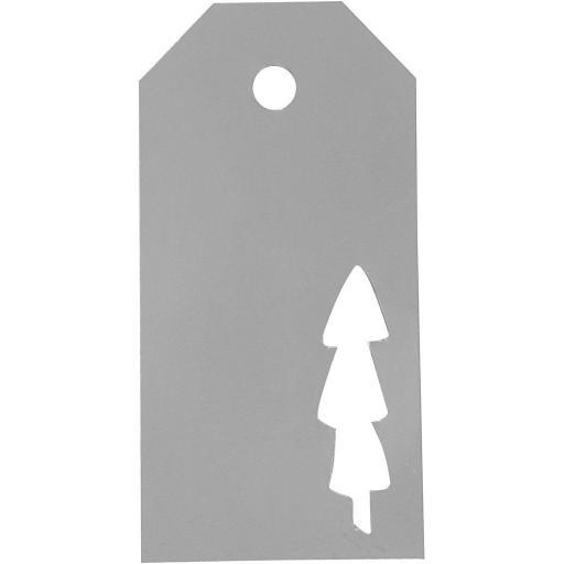 Vivi Gade Designs Manilla Xmas Tags Silver - Pack of 15
