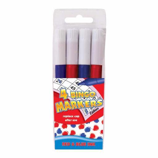 Tallon Bingo Marker - Pack of 4