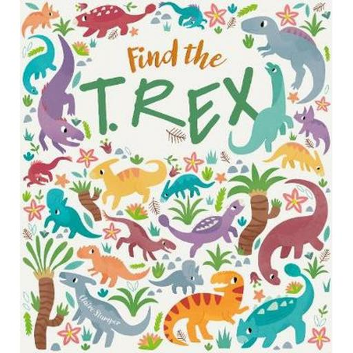 Find the T-Rex Colouring & Activity Book