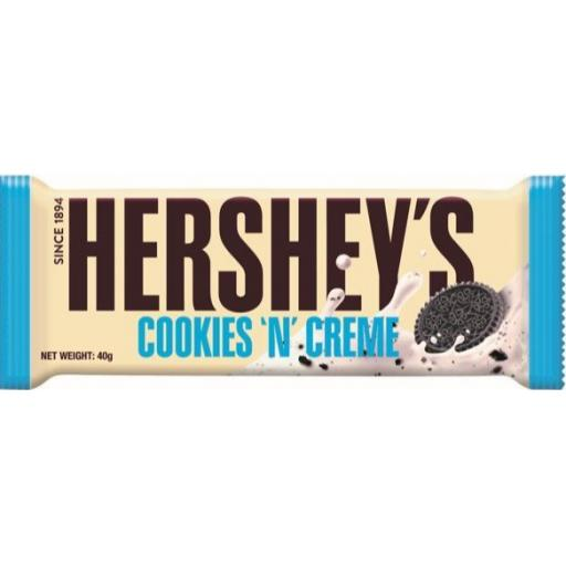 Hershey's Cookies'n'Creme Bar 40g