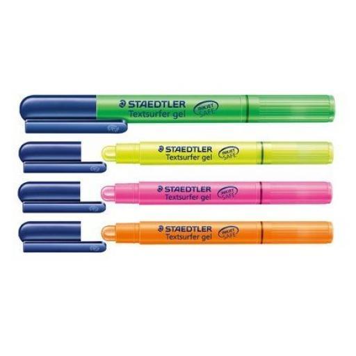 Staedtler Ink Jet Safe Textsurfer Gel Pens - Assorted Colours/Packs