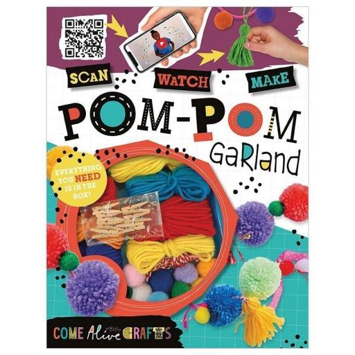 Pom-Pom Garland Craft Set