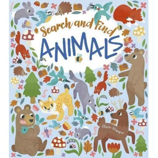 Search and Find Animals Colouring & Activity Book