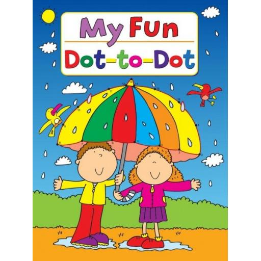 My Fun Junior Dot to Dot Book
