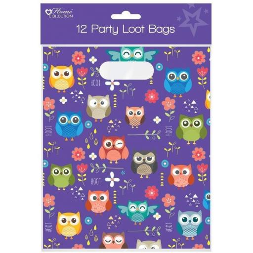 Home Collection Woodland Design Loot Bags - Pack of 12