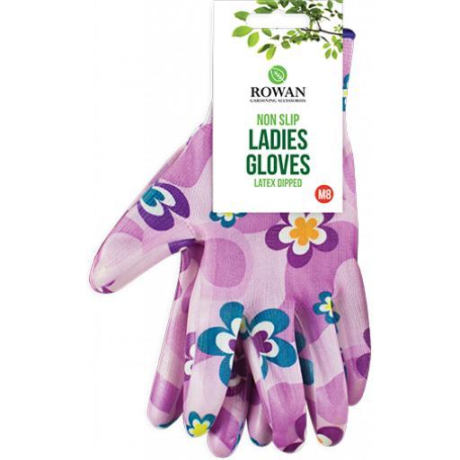 Rowan Latex Dipped Ladies Non Slip Gloves