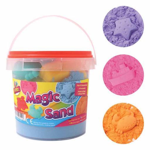 Artbox Magic Sand 1kg Tub - Assorted Colours