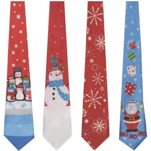 Tallon Musical Christmas Tie - Assorted Designs