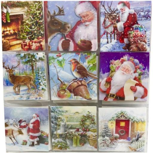 Tallon Traditional Handcrafted Gift Tags - Pack of 18