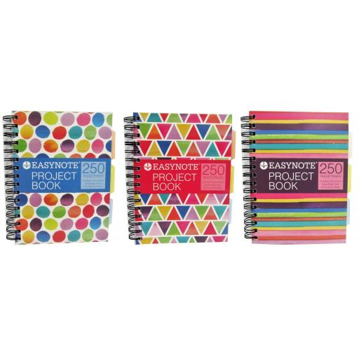Easynote Project Book A5 Spiral - 250 Pages