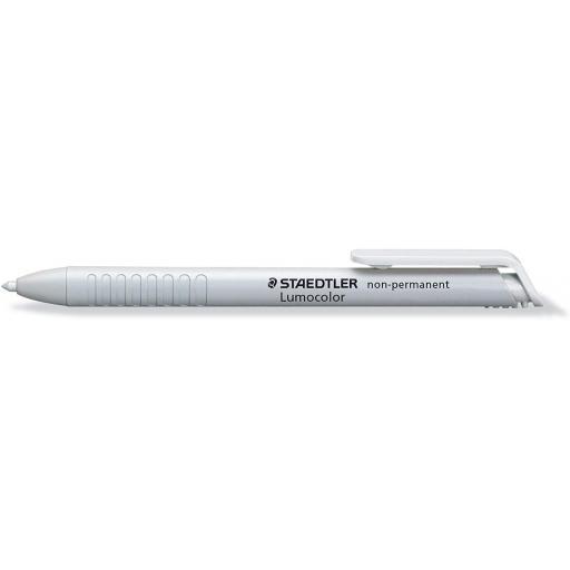 Staedtler Lumocolor Non-Permanent Dry Marker - White