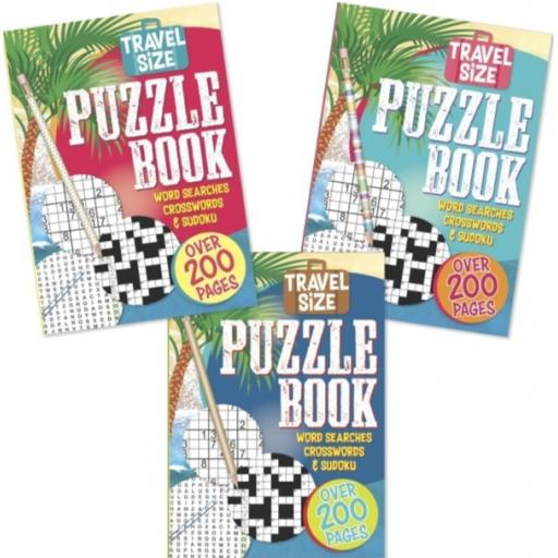 Tallon A5 Travel Size Puzzle Book