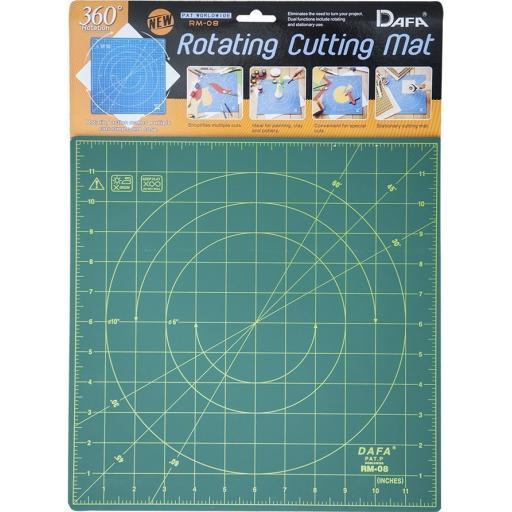 Dafa 12 Inch Rotating Cutting Mat