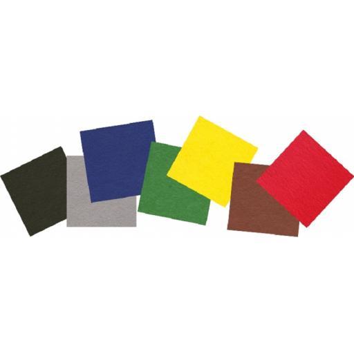 Jomil Self Adhesive Felt Squares 30cm - Pack of 10