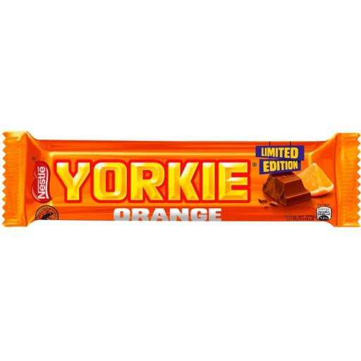 Nestle Limited Edition Yorkie Orange Bar 46g