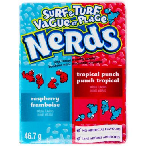 Nerds Raspberry & Tropical Punch 47g