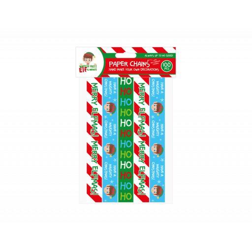 Gem Elf Design Paper Chains - Pack of 100