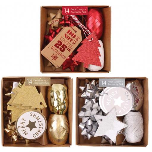 Tallon 14 Piece Boxed Accessory Pack - Assorted Colours