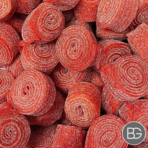 Fizzy Rolls  - Strawberry